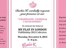 Invitations | Barbie K.: My Flat in London