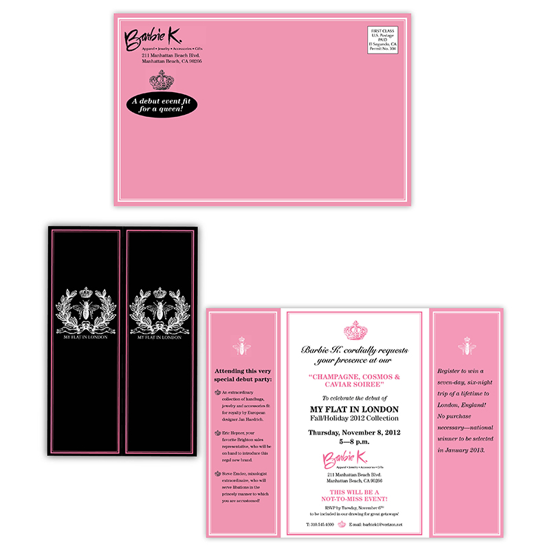 Invitations | Barbie K.: My Flat in London invitation