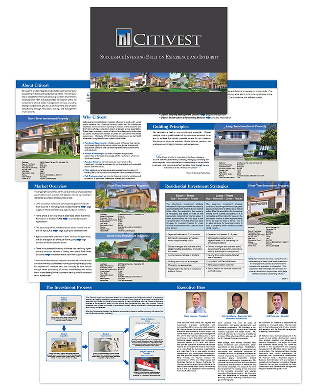 Brochure | Citivest Capital Investments