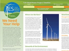 Newsletters | Tule Wind