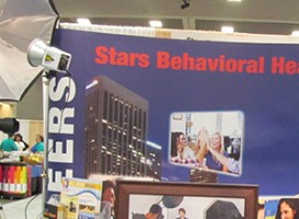 Trade Show | Stars Behavioral Health Group tradeshow booth