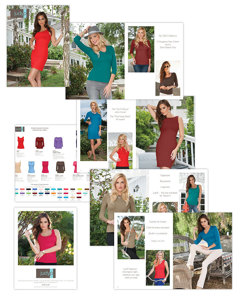 JudyP Apparel Fall 2015 Catalog