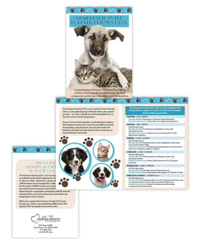 Brochure | Humane Society Major Donor