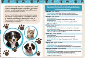 Brochure | Humane Society Major Donor