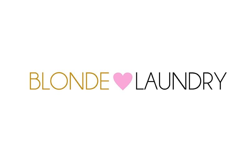 Logo| Blonde Laundry t-shirts - mjobriendesign.com