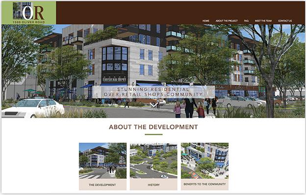 Logo, website and brochure design.
