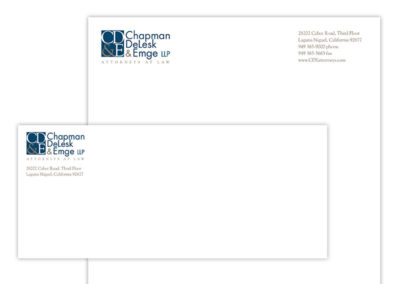 Logo Stationary | CD&E Attorneys At Law
