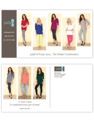 Postcard | JudyP Apparel Tunics