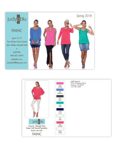 Postcard | JudyP Blu FMNC
