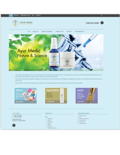 Website-Ayur-Medic-Skin-Care