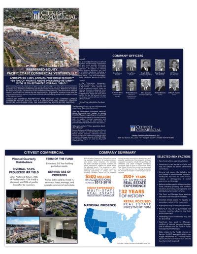 Brochure | Citivest Commercial Profile