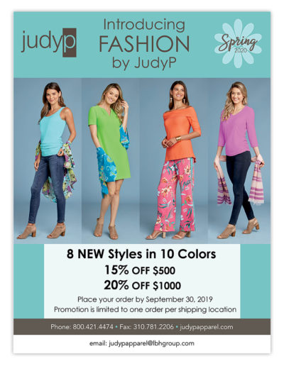 Email Marketing | Introducing Fashion by JudyP