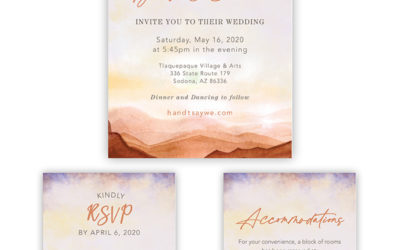 Yes we design Wedding Invitations!